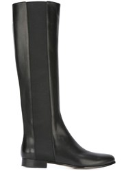 Jimmy Choo 'Faith' Flat Boots Black