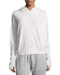 Vimmia Warmth French Terry Hoodie With Seam Details Ivory