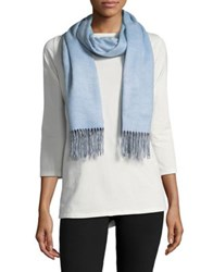 Lord And Taylor Fringe Scarf Pink Taupe