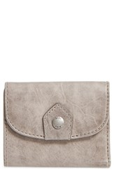 Frye Women's Melissa Medium Trifold Leather Wallet Grey Ice