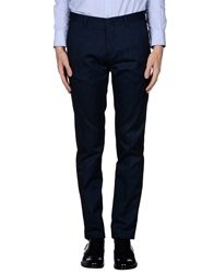 Daniele Alessandrini Casual Pants Dark Blue