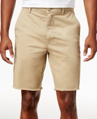 American Rag Men's Stretch Twill Shorts Only At Macy's Rustic Khaki