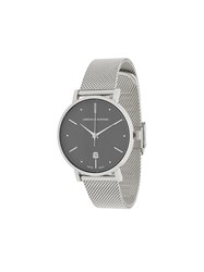 Larsson And Jennings Aurora Silver Milanese 38Mm Watch