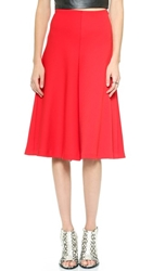 Milly Bell Skirt Red