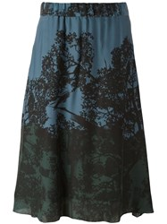 Antonia Zander 'November' Skirt Green