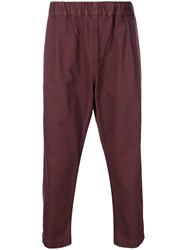 Casey Casey Verger Trousers Pink And Purple