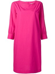 Odeeh Cropped Sleeve Dress Pink