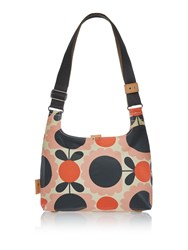 Orla Kiely Scallop Flower Spot Mini Sling Bag Pink