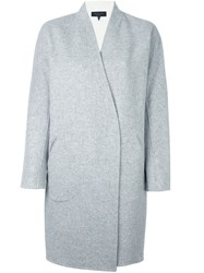 Rag And Bone Oversized Mid Length Coat Grey