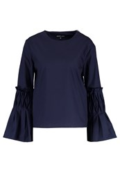 Sister Jane Blouse Navy Dark Blue
