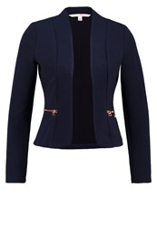 Tom Tailor Denim Blazer Sky Captain Blue Dark Blue