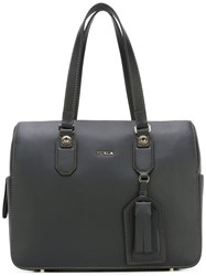Furla Structured Tote Bag Black
