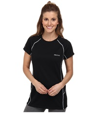 Marmot Thermalclime Sport S S Crew Black Women's Clothing