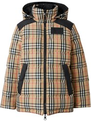 Burberry Vintage Check Puffer Jacket 60