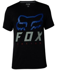 Fox Men's Heritage Forger Tech T Shirt Heather Black