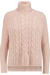 Raoul Cable Knit Turtleneck Sweater