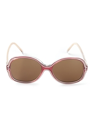 Rochas Vintage Tinted Sunglasses Pink And Purple