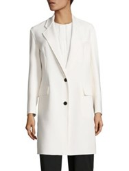 Dkny Drop Shoulder Coat Gesso