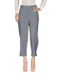 Liviana Conti Casual Pants Grey