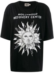 Fausto Puglisi 'Hollywood Recovery Center' T Shirt Black