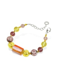 Antica Murrina Veneziana Dakar Murano Glass Beads Bracelet Multicolor