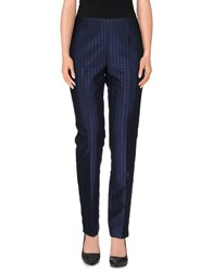 Nuvola Trousers Casual Trousers Women Blue