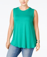 Stoosh Plus Size Sleeveless Basic Top