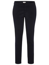 White Stuff Sateen Ankle Grazer Trousers Midnight