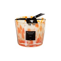 Baobab Pearls Scented Candle Coral Pearls Pink Orange