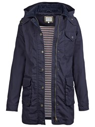 Fat Face Kent Mac Coat Navy