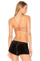 Free People Strappy Side Bra Brown
