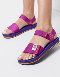 The North Face Skeena Sandals In Purple