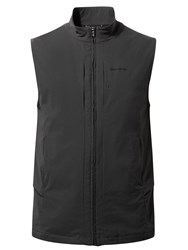 Craghoppers Men's Nosilife 19 Pocket Davenport Vest Black Sienna