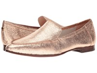 Kate Spade Carima Rose Gold Crackle Metallic Nappa Women's Slip On Shoes