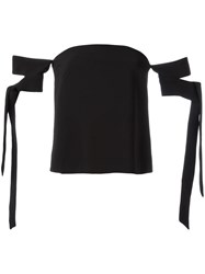 C Meo Collective Off The Shoulder Blouse Black
