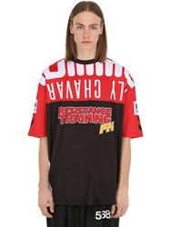 Hummel Willy Chavarria T Shirt True Red