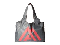 The North Face On Run Bag Deep Garnet Red Zinc Grey Tote Handbags Gray