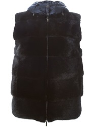 P.A.R.O.S.H. Padded Hooded Vest Blue