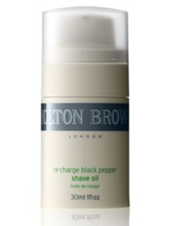 Molton Brown Re Charge Black Pepper Shave Oil 1 Oz. No Color