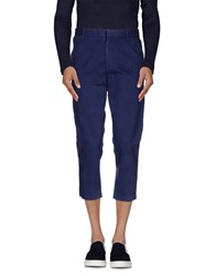 0051 Insight Trousers 3 4 Length Trousers Men Slate Blue