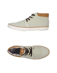 Cafe'noir Cafenoir High Tops And Trainers Light Green