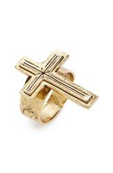 Virgins Saints And Angels Women's Santissimo Cross Ring