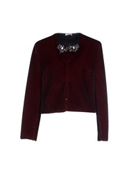 Le Ragazze Di St. Barth Suits And Jackets Blazers Women Maroon