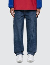 Polo Ralph Lauren Woven Denim Jeans Blue