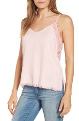 Billy T Chambray Camisole Top Blush