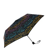 Harrods Neon City Umbrella Unisex