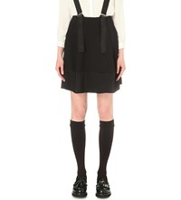 Claudie Pierlot Slow Crepe Skirt Noir