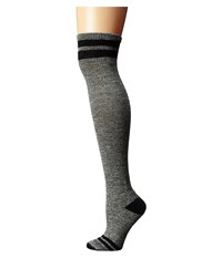 Smartwool Retro Tube Socks Black Women's Thigh High Socks Shoes