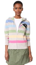 Marc Jacobs Long Sleeve Hoodie Pink Multi