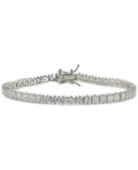 Giani Bernini Cubic Zirconia Boxed Tennis Bracelet In Sterling Silver Only At Macy's
